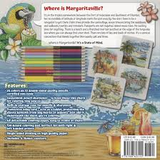 margaritaville cartoon amazon com margaritaville 5 o u0027clock somewhere coloring book