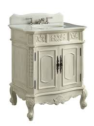 Single Sink Bathroom Vanity by Adelina 30 Inch Antique White Single Sink Bathroom Vanity Antique