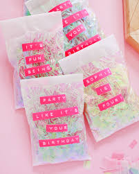 favor bags diy iridescent favor bags