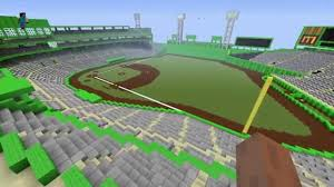 Fenway Park Seating Map Fenway Park In Minecraft Youtube