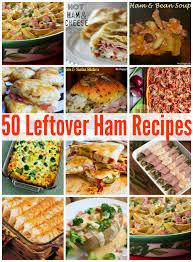 50 leftover ham recipes mrs happy homemaker