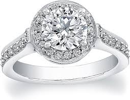 halo engagement ring settings flyerfit pave halo engagement ring 5204rd