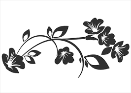 flower ornament 7 wallstickers