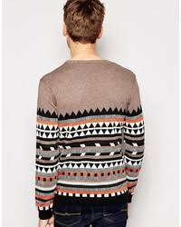 tribal sweater asos brand sweater with geo tribal design where to buy how to wear