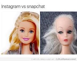 Funny Memes For Instagram - instagram vs snapchat lolz humor