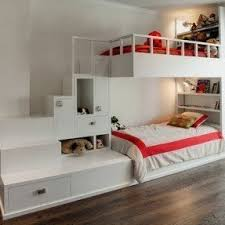 Bunk Beds With Built In Desk Top Bunk Bed With Desk Underneath Foter