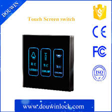 smart touch electrical switches switch socket touch screen