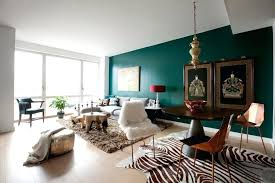 Living Room Wall Table Teal Accent Wall In Living Room Curiousmind Club