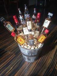 14 best liquor basket images on pinterest candy bouquet auction