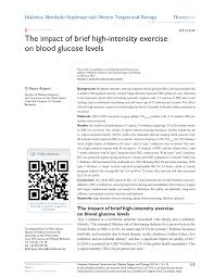 Sho Intens the impact of brief high intensity pdf available