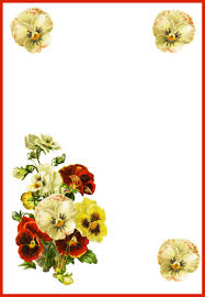traditional clipart wedding flower pencil and in color