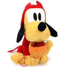 disney mickey mouse friends halloween costume pluto plush doll 12