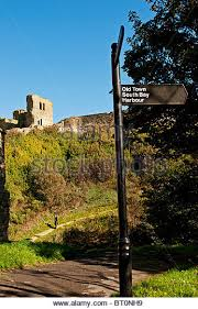 Old Castle Curtain Wall Scarborough Castle Wall Scarborough Town Castle Wall Scarborough