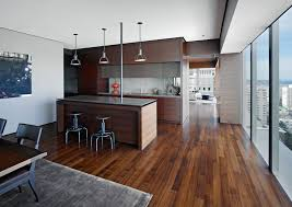 Laminate Wood Floors In Kitchen - modern kitchen flooring options pros and cons