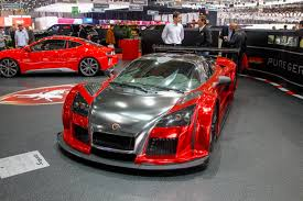 blood red paint 5 wildest paint jobs at the 2014 geneva auto show glitter spice