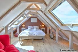 Upstair Bedroom Design Beachfront Holiday House In Carantec Finistère Worldholidayrental