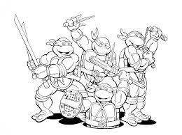 pages ninja turtle