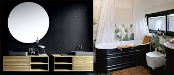 black bathroom ideas bathroom trends 2018 fresh design ideas for season