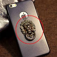 metal lion ring holder images Hot sale mobile phones ring holder cartoon lion shaped tablets jpg