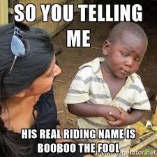 Do You Boo Boo Meme - boo boo the fool boo boo the fool know your meme