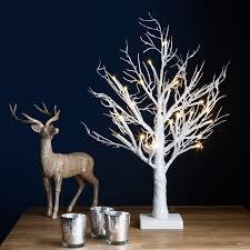 twig tree with lights uk tree decor ideas