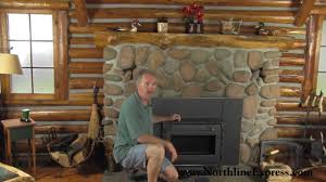 installing a volgalzang colonial wood burning stove insert youtube