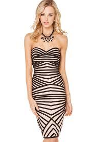 optical illusion dress black label striped optical illusion dress 89 90 clothing