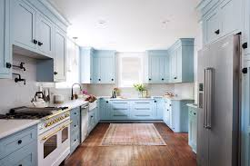 blue kitchen paint ideas how to pull a powder blue kitchen