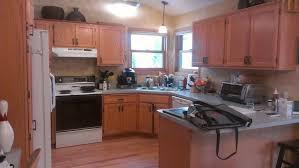 kitchen paint with golden oak cabinets golden oak cabinets no more painterati