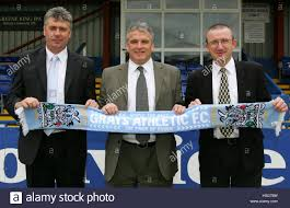 from l to r gerry murphy assistant manager frank gray