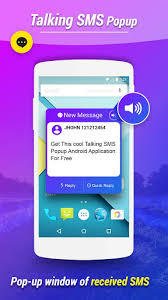sms popup apk caller name speaker apk for android