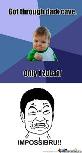 Zubat Meme - zubat by mcfishbomb meme center
