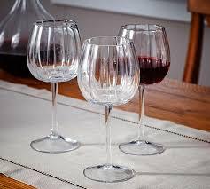 pumpkin wine glass set of 4 pottery barn