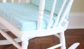 Rocking Chair For Baby Nursery S Rocking Chair Brightened Up For New Baby Nursery The