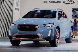 subaru suv 2016 crosstrek 2017 subaru xv crosstrek previewed by this rugged concept in