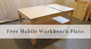 Free Plans Building Wood Workbench by Our Home From Scratch