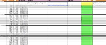 calendar social media planning calendar template