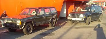 jeep cherokee orange file jeep cherokee u0026 u002707 jeep patriot orange julep jpg