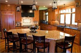 curved kitchen island home design
