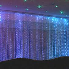 2014 high fashion fiber optic waterfall light curtain buy fiber
