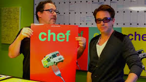 robert downey jr and jon favreau unveil posters for chef u2014 geektyrant