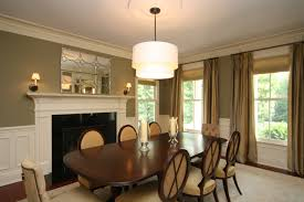 Traditional Dining Room Ideas Long Crystal Chandelier Dining Room Traditional With Area Rug