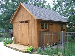 garden decor great garden decoration using light oak wood shed