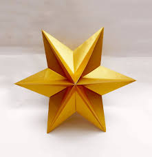 origami star easy and rich christmas star звезда для елки