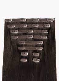 clip in hair luxy hair clip in hair extensions brown color 2 220 grams