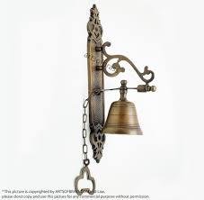 Exterior Door Bells Vintage Brass Gate Front Bell Knocker Swing Door Bell