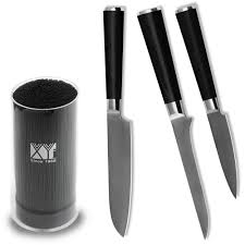 compare prices on damascus vg10 kitchen boning knife online top quality black knife holder 3 5