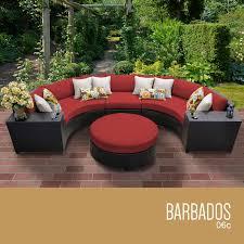 buy barbados 6 piece outdoor wicker patio furniture set 06c at