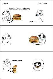 Troll Meme Comics - burger troll meme by afaq memedroid