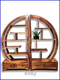 Arched Bookcase Wooden Shelving Unit Bookcase